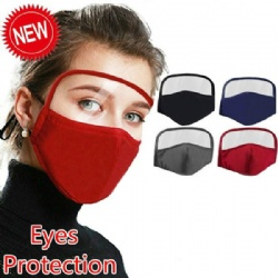 Reusable Mask with Clear Window