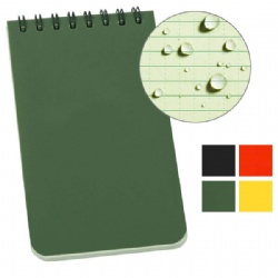 Water proof Spiral Notebook