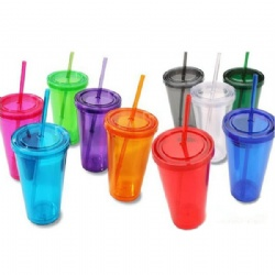 24oz Tumbler with Straw
