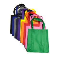 Recyclable grocery shopping tote